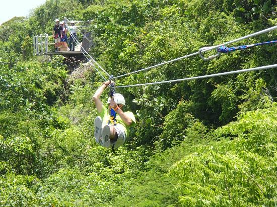 Barcelo Dominican Beach: Zip line trip