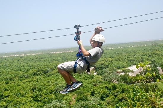 Barcelo Dominican Beach: Zip line tour