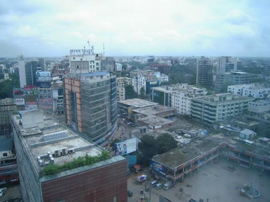 The Westin Dhaka: view from room 1010
