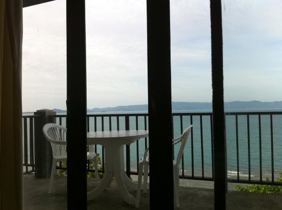 Blue Hill Beach Resort: aussicht vom zimmer