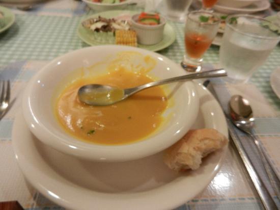 Pension Birao: かぼちゃのスープ