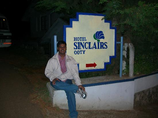 Sinclairs Retreat Ooty: Entrance