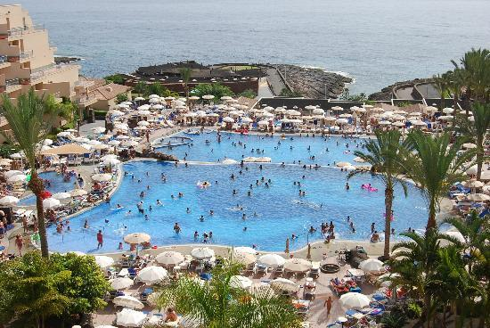 Modish Piscinas del hotel - Picture of Hotel Riu Buena Vista, Playa KY-75