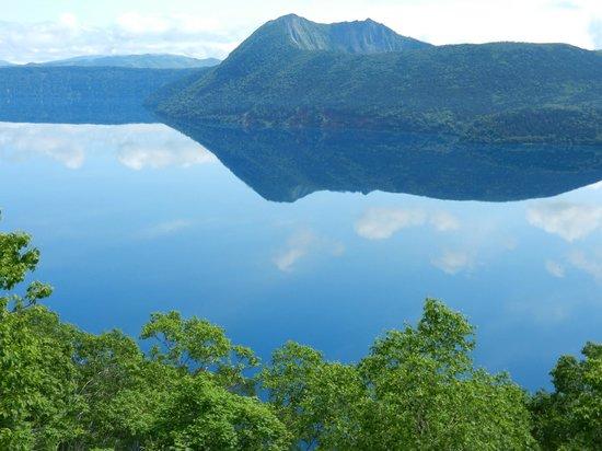 Lake Mashu: 第3展望台からの眺め