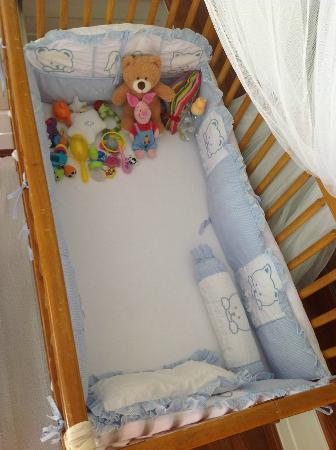 Santiburi Beach Resort & Spa: Letto di mio figlio