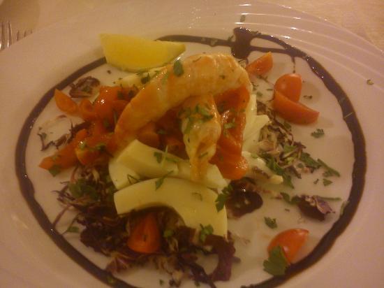 Park Hotel: L'insalata di mare