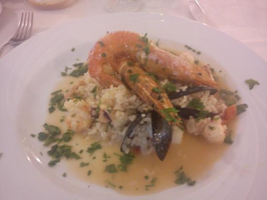 Park Hotel: Il risotto di pesce