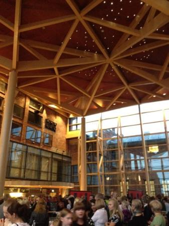 Sibelius Hall : Beautiful mix of old with new at this symphony hall