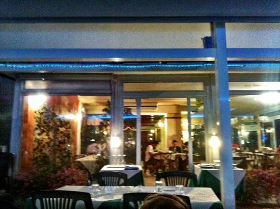 Ristorante Cassiopea: esterno ristorante