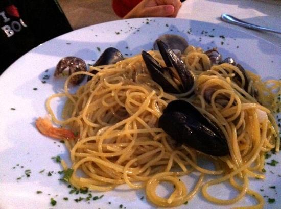 Ristorante Cassiopea: spaghetti allo Scoglio