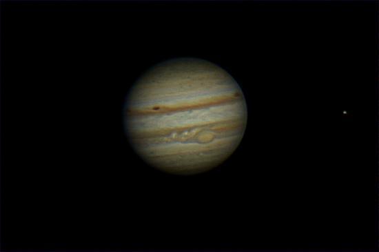 Planetario e Osservatorio Astronomico di Ca del Monte: Giove (by Fulvio Soldera)