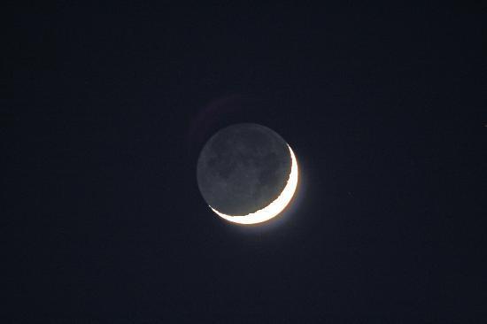 Planetario e Osservatorio Astronomico di Ca del Monte: Luce cinerea della Luna