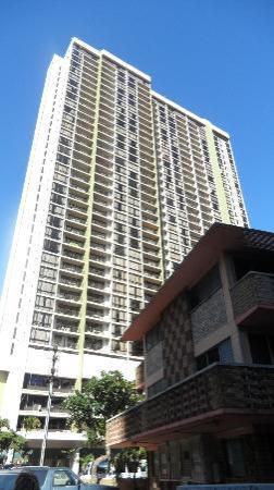Aston Waikiki Sunset: Veduta esterna hotel