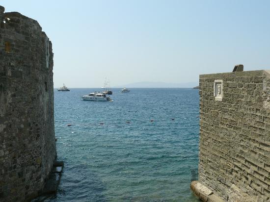 Bodrum Kalesi: Vista dal castello