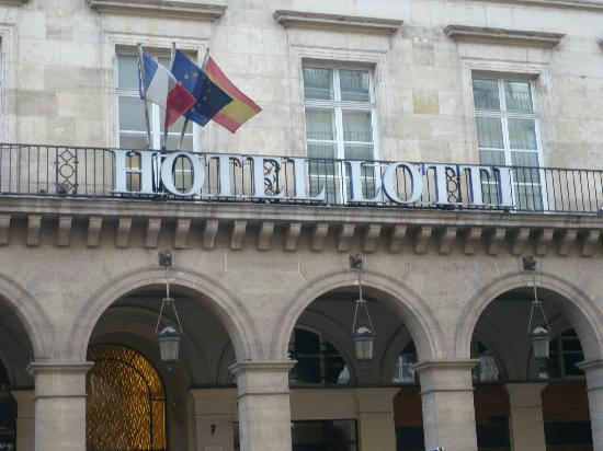 Fachada del hotel picture of hotel lotti paris paris for Paris hotel address