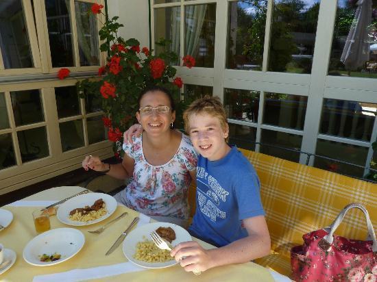 Hotel Salzburgerhof: Lunch