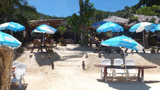 See Through Resort Haad Yao: Beach Bar