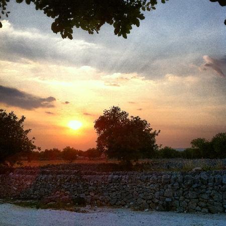 Masseria Ciancio: Il tramonto alla Masseria Cianciò