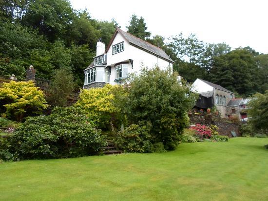 Glandwr Mill : House from garden