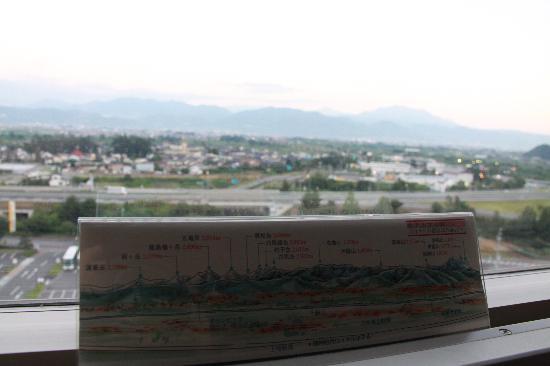 โรงแรมชินชู มัตซุชิโร่ รอยัล: 朝の景色