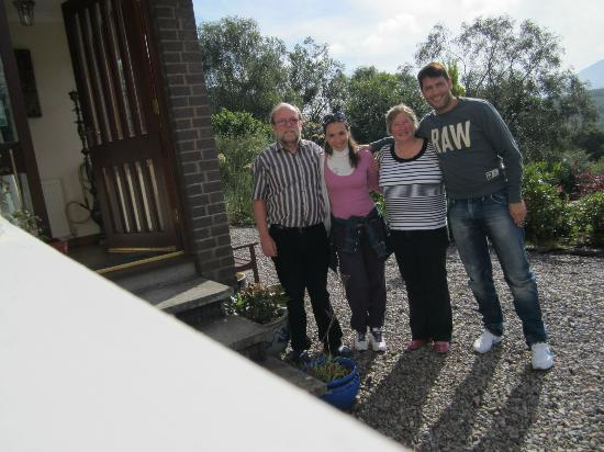 Quaich Cottage: Gentili proprietari