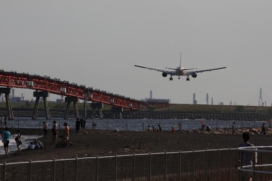 Ota, اليابان: 着陸 