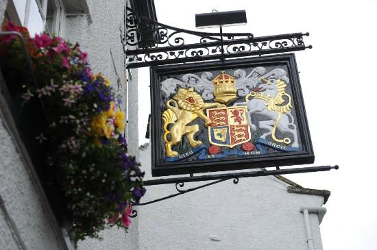 The Kings Arms: Kings Arms Signage