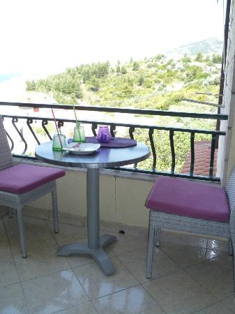 Villa Palma: terrazino dove mangiare