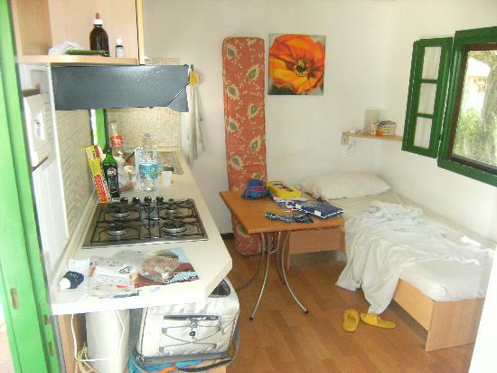 Camping Molino a Fuoco: CUCINA