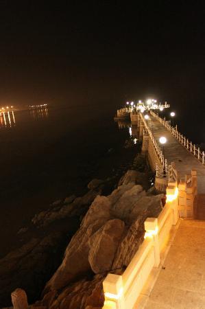 Wei Hai Golden Bay Hotel: Зона Барбекю на
