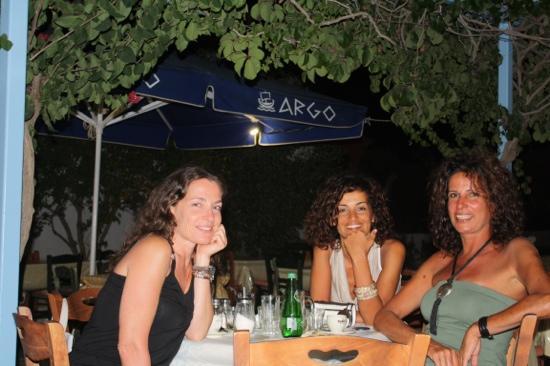 Pension Argo Restaurant: fiora, serena e mariapaola da argo