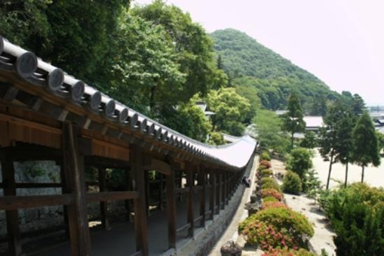 Kibitsu Shrine: 長い回廊