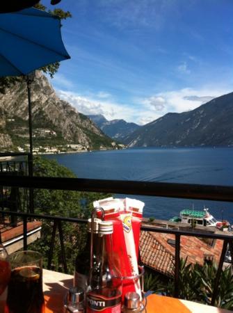 Ristorante Alla Noce: Blick von der Restaurantterrasse