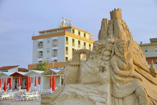 Hotel Caravel: spiaggia