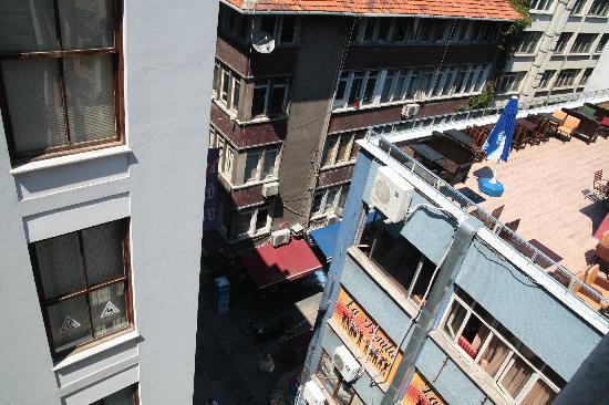 Misafir Suites 8 Istanbul : Panorama dalla camera