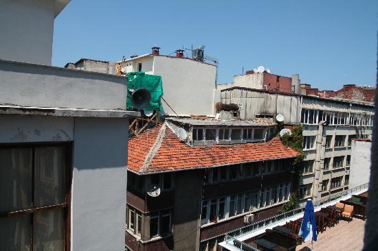 Misafir Suites 8 İstanbul: Panorama dalla camera