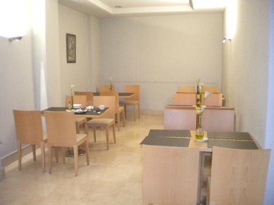 Aacr Museo: sala colazione