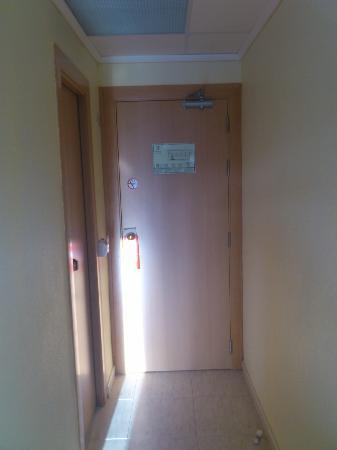 Prince Park Hotel: Acceso a la habitación