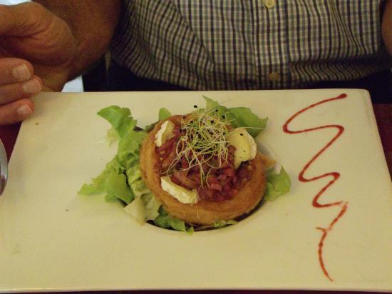 Le Tripot: Great presentation and fabulous food!