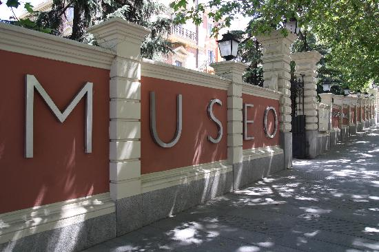 Museo Lázaro Galdiano: Museo Lazaro Galdiano outside