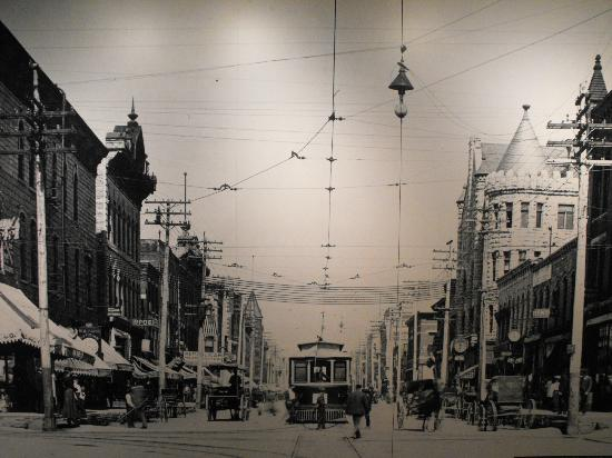 Joliet Area Historical Museum : Chicago St. in days gone by