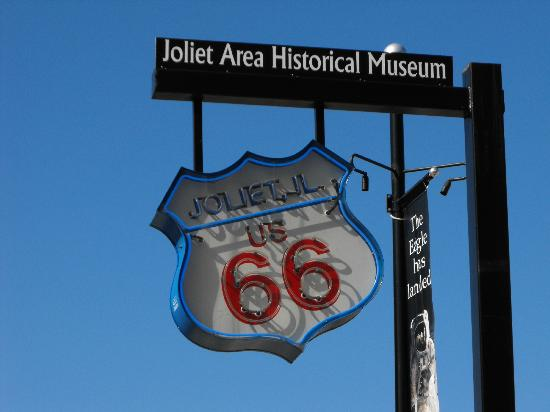 Joliet Area Historical Museum: Museum also honors Joliet's being on Route 66