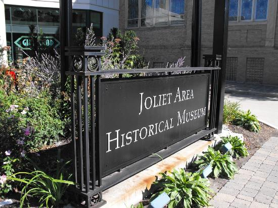 Joliet Area Historical Museum: The sign