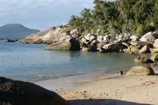 East Bedarra Island Retreat: The bay beside the retreat