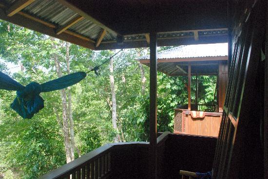Mamaling Resort Bunaken: terraza