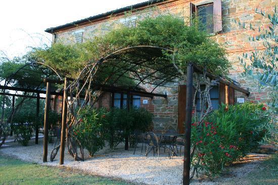 Podere Fiorello: giardino