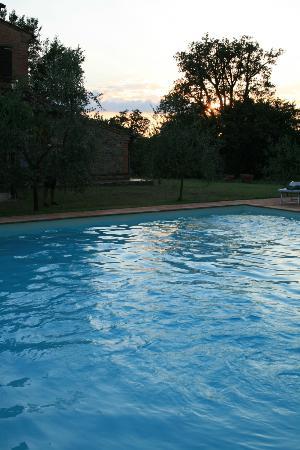 Podere Fiorello: piscina