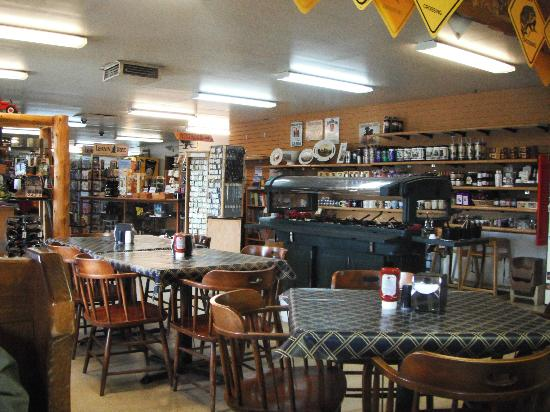 Dirty Annie's: Dining Area and Country Store