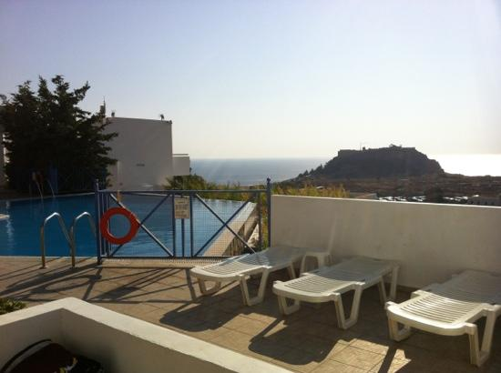 Lindos Gardens Resort Complex: great view