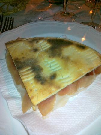 Il Convento - Antica Dimora Francescana Sec. XIII: torta al testo